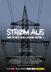 Plakat: Strom aus - Wie sicher sind unsere Netze?